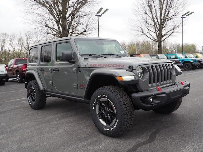 New 2019 Jeep Wrangler UNLIMITED RUBICON 4X4 Sport Utility Lewisburg, PA