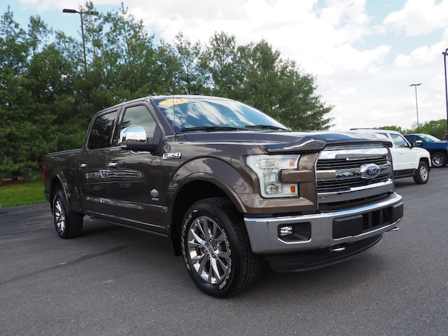 Used 2016 Ford F-150 King Ranch 4x4 King Ranch  SuperCrew 6.5 ft. SB Lewisburg, PA