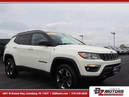 2017 Jeep Compass Trailhawk 4x4 Trailhawk  SUV (midyear release)