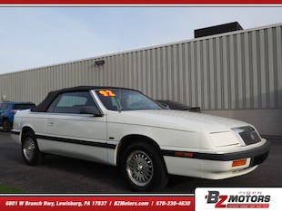 1992 Chrysler Le Baron Base Convertible