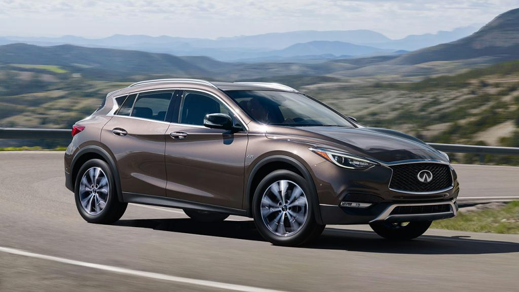 Intelligent All-Wheel Drive available in the QX30