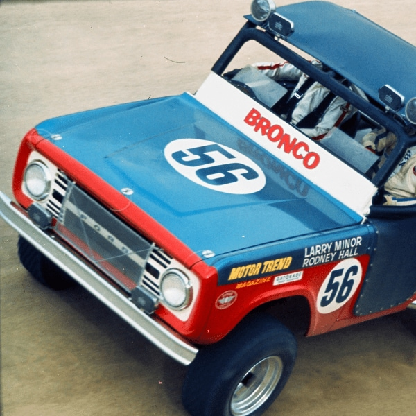 history of the bronco