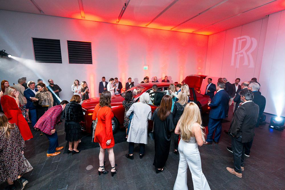 Rolls-Royce Motor Cars Red Phantom Reveal at 1000 Thousand Museum During Art Basel Miami - December 2019
