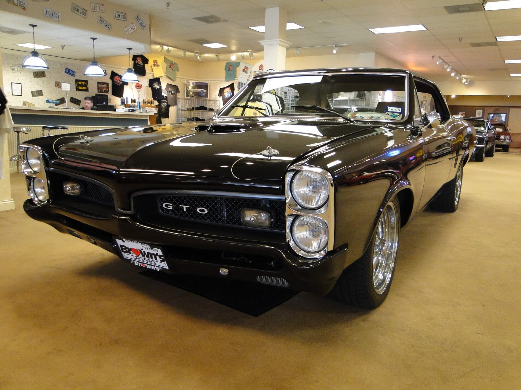 used 1967 pontiac gto tribute pro touring sold to mo for sale stock number in va. Black Bedroom Furniture Sets. Home Design Ideas