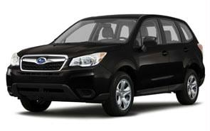 2014 Subaru Forester Color Crystal Black Silica