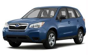 2014 Subaru Forester Color Marine Blue Pearl