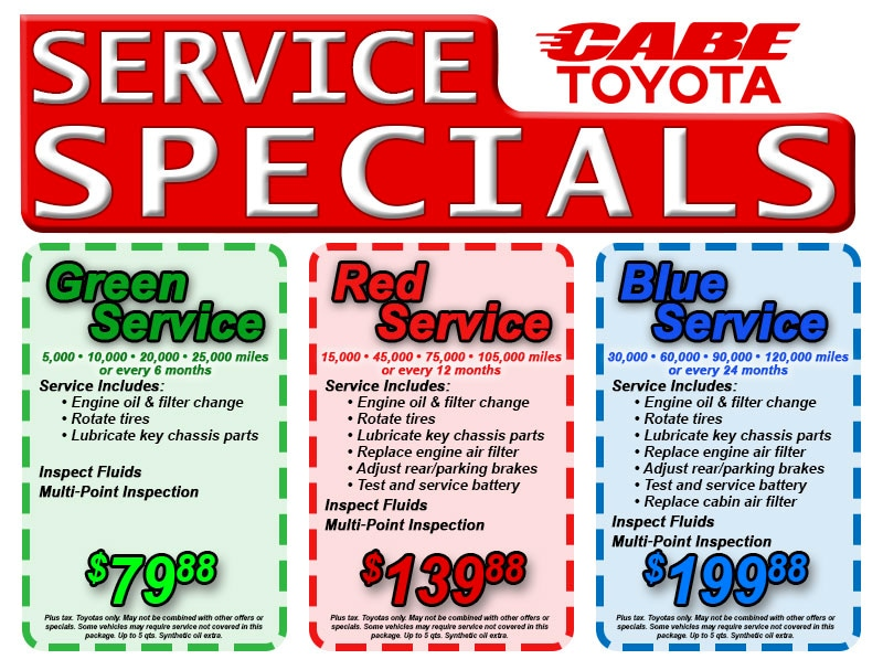 toyota scion service coupons