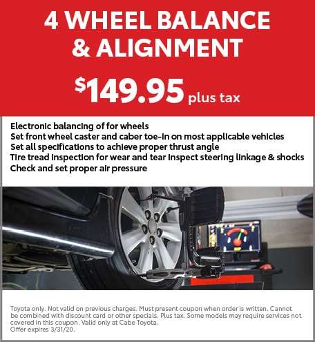 4 Wheel Balance & Alignment