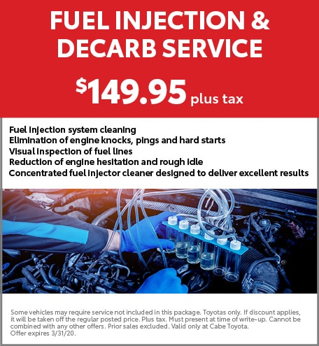 Fuel Injection & Decarb Service