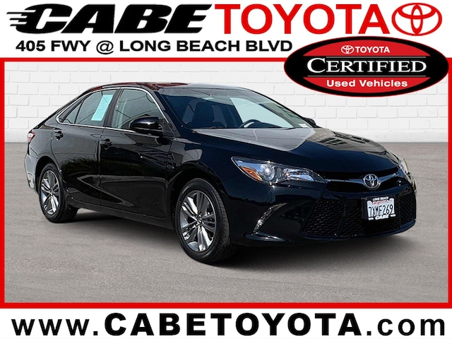 Toyota Certified Pre Owned >> Certified Pre Owned Cabe Toyota Long Beach
