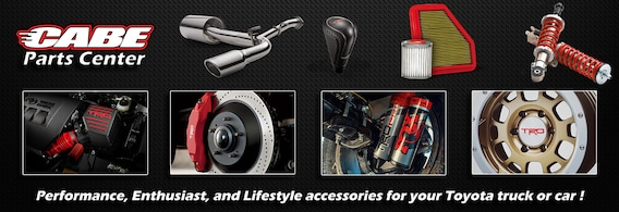 Parts Center in Long Beach, CA | Cabe Toyota Serving Long Beach CA
