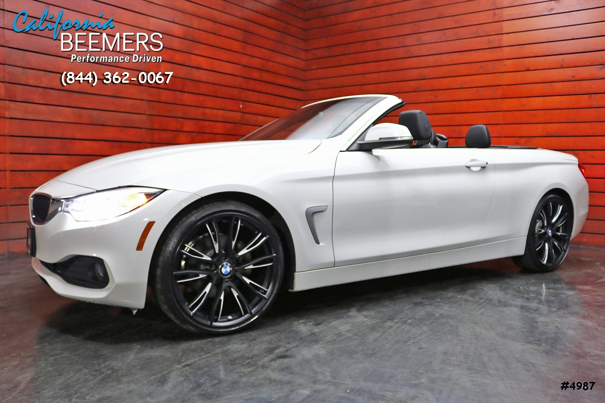 2015 BMW 428i Convertible Driver Assist 4 Series Convertible