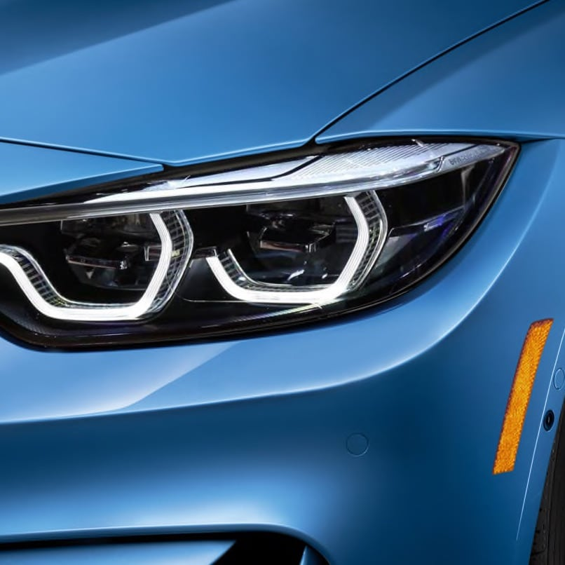 BMW 3 Series sedan LED headlights