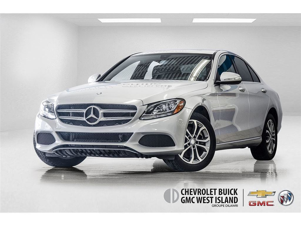 2015 Mercedes-Benz C-Class C300 4MATIC ** CUIR ** ÉCRAN ACL ** Berline