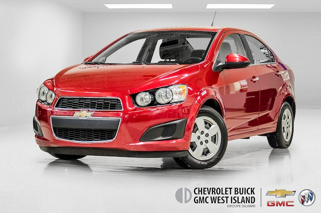 Used 2013 Chevrolet Sonic For Sale At Cadillac West Island Vin