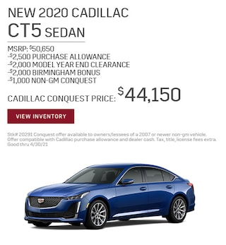 New 2020 Cadillac CT5 Sedan