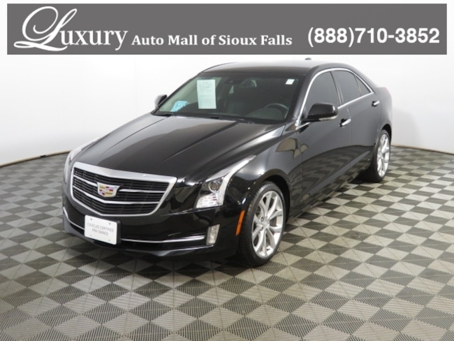 Certified 2015 Cadillac Ats 2 0l Turbo Performance For Sale In Sioux