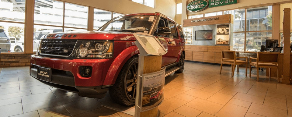 Land Rover Encino Finance Center