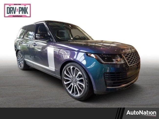 2019 Range Rover Supercharged with SVO paint