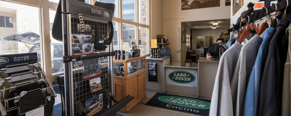 Land Rover Encino Parts Center