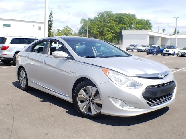 2013 Hyundai Sonata Hybrid Limited w/Panoramic Sunroof Pkg Sedan