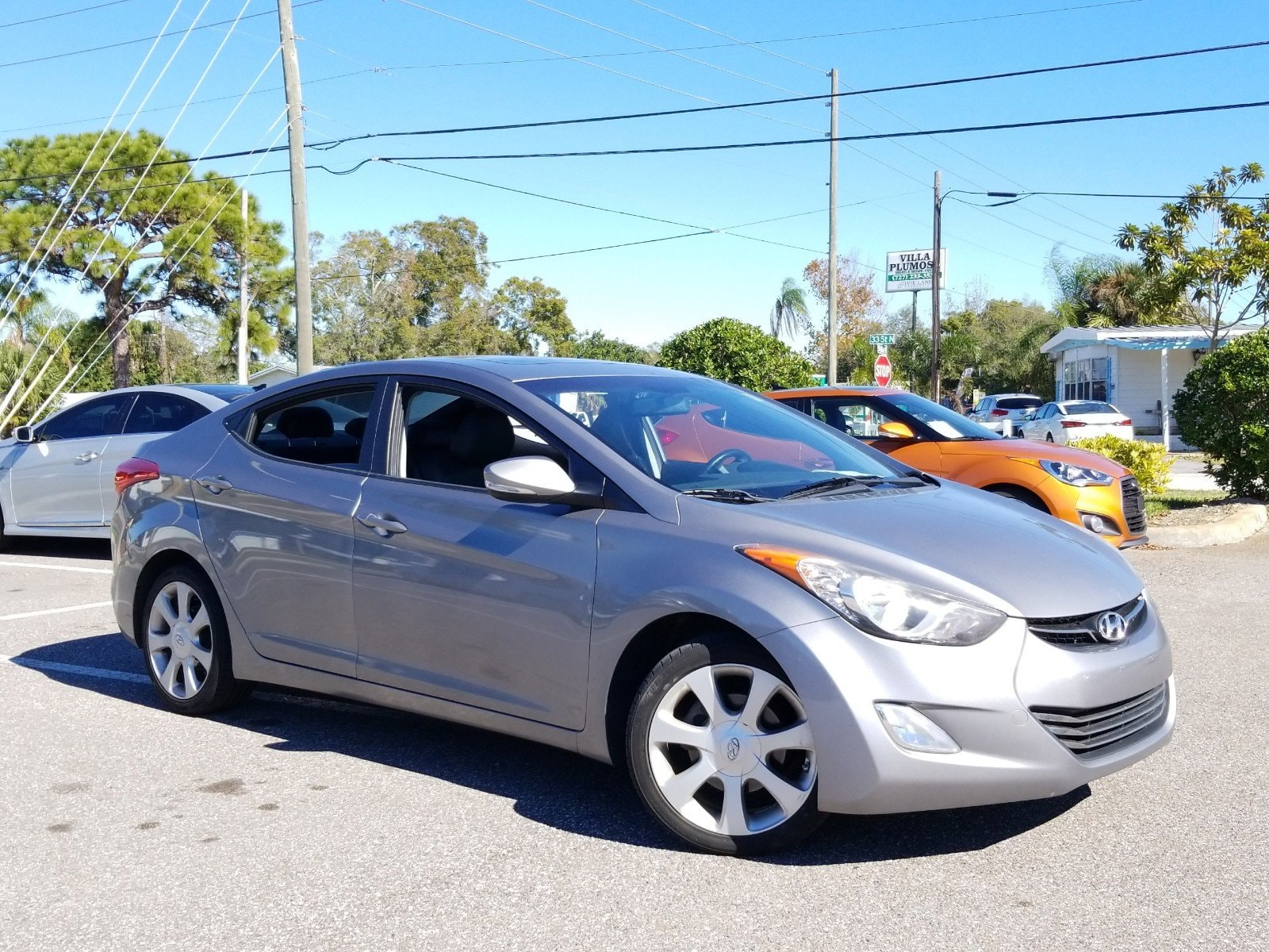 2011 Hyundai Elantra Ltd Sedan
