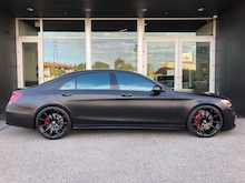 2018 Mercedes-Benz AMG S 63 4MATIC Sedan