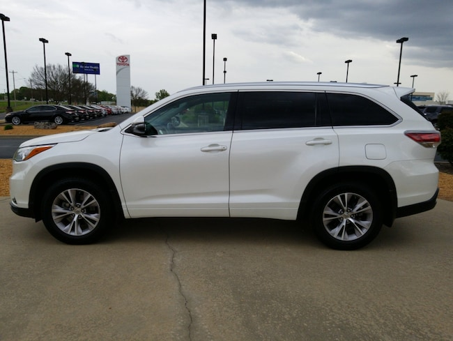 For Sale near Little Rock: Certified Used 2015 Toyota Highlander XLE V6 SUV