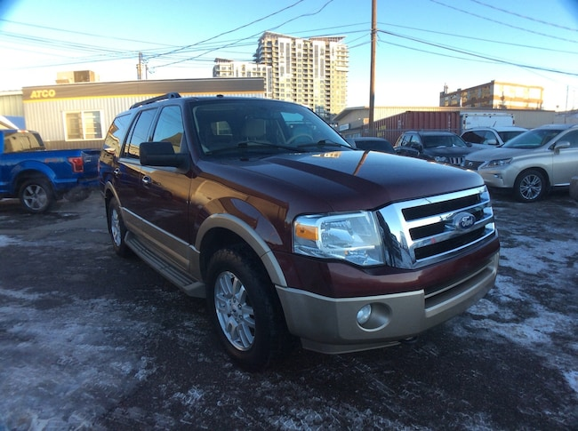 2011 Ford Expedition XLT/ LEATHER / SUN ROOF / 4X4 / 7PASS SUV