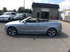2010 Audi A5 PREMIUM S LINE CABRIOLET  2.0T AWD Convertible