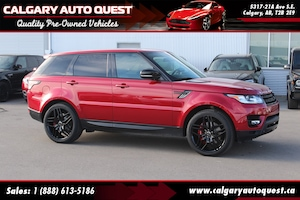 2015 Land Rover Range Rover Sport V8 Supercharged 4WD/NAVI/B.CAM/LEATHER/ROOF