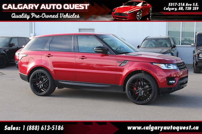 2015 Land Rover Range Rover Sport V8 Supercharged 4WD/NAVI/B.CAM/LEATHER/ROOF SUV