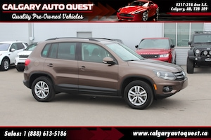 2015 Volkswagen Tiguan 4MOTION ALL WHEEL DRIVE / EASY FINANCING AVAILABLE