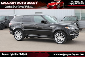 2015 Land Rover Range Rover Sport 4WD/NAVI/B.CAM/LEATHER/PANO-ROOF