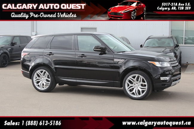 2015 Land Rover Range Rover Sport 4WD/NAVI/B.CAM/LEATHER/PANO-ROOF SUV
