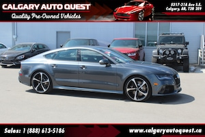 2015 Audi RS 7 4.0T AWD/560HP/NAVI/B.CAM/LEATHER/ROOF