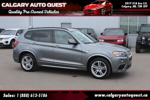 2013 BMW X3 xDrive35i M-SPORT/AWD/NAVI/B.CAM/LEATHER/ROOF
