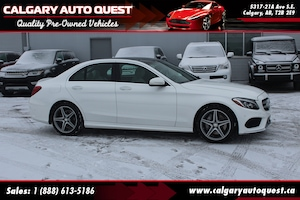2015 Mercedes-Benz C-Class C400 4MATIC AMG PKG/AWD/NAVI/B.CAM/LEATHER