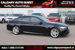 2014 BMW 550i xDrive M-SPORT/AWD/NAVI/B.CAM/LEATHER