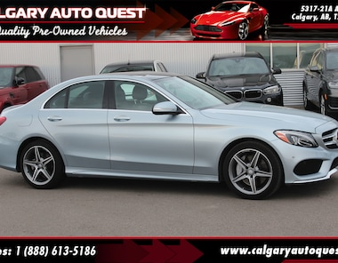 2015 Mercedes-Benz C-Class C300 4MATIC AMG PKG/NAVI/B.CAM/LEATHER/ROOF Sedan