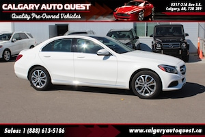 2015 Mercedes-Benz C-Class C300 4MATIC AWD/NAVI/B.CAM/LEATHER/ROOF
