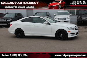 2013 Mercedes-Benz C-Class C 250 COUPE / LEATHER / SUNROOF / MUST SEE