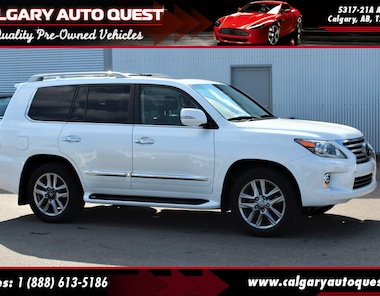 2014 LEXUS LX 570 4WD/NAVI/B.CAM/DVD/3RD ROW/LEATHER SUV