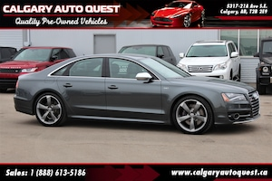 2014 Audi S8 4.0T AWD/NAVI/B.CAM/LEATHER/NIGHT VISION/ROOF