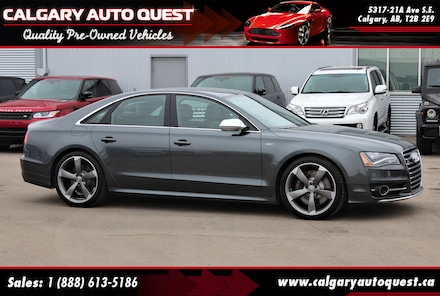 2014 Audi S8 4.0T AWD/NAVI/B.CAM/LEATHER/NIGHT VISION/ROOF Sedan