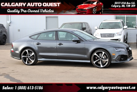 2015 Audi RS 7 4.0T AWD/560HP/NAVI/B.CAM/LEATHER/ROOF Sedan