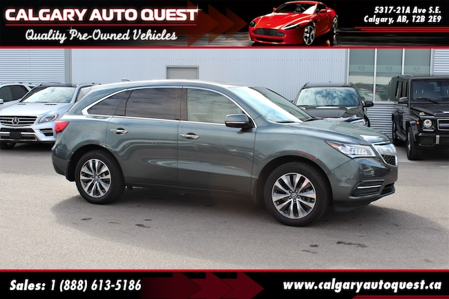 2015 Acura MDX AWD/NAVI/B.CAM/3RD ROW/LEATHER SUV