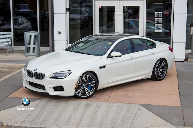 Used 2016 BMW M6 Gran Coupe Frozen White! Ultimate Package. For Sale ...