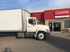 2015 HINO 338 - 24 foot Body with a Gate