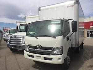 2017 HINO 195 - 16 foot dry van body